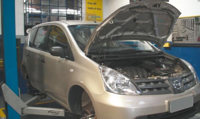 Nissan Livina 1.6L 16v é um carro novo, que o reparador já conhece