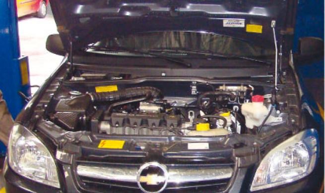 Manutenção simples marca Chevrolet Prisma
