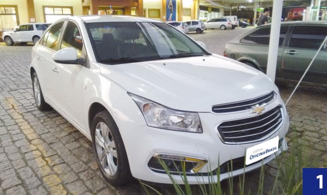 Cruze LTZ 1.8 AT: Chevrolet mais vendido do mundo passa por um pente fino nas oficinas