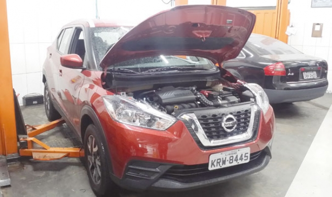 Nissan Kicks nacional ganha aprovação das oficinas e profissionais confirmam sua boa reparabilidade