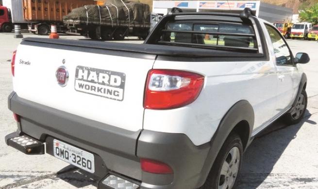 Fiat Strada 2018 chega com versões mais tecnológicas e com robustez que é sua característica