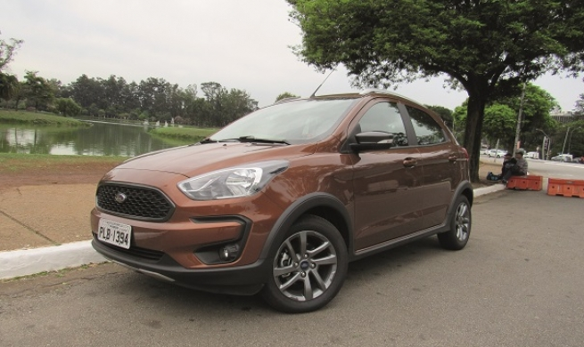 Ford Ka Freestyle 1.5 AT com powertrain do Ecosport confirma aparência de off road e surpreende oficinas