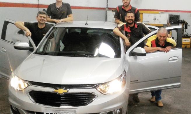 Chevrolet Cobalt Elite 1.8 AT agrada oficinas com sua manutenção simples e excelente custo-benefício