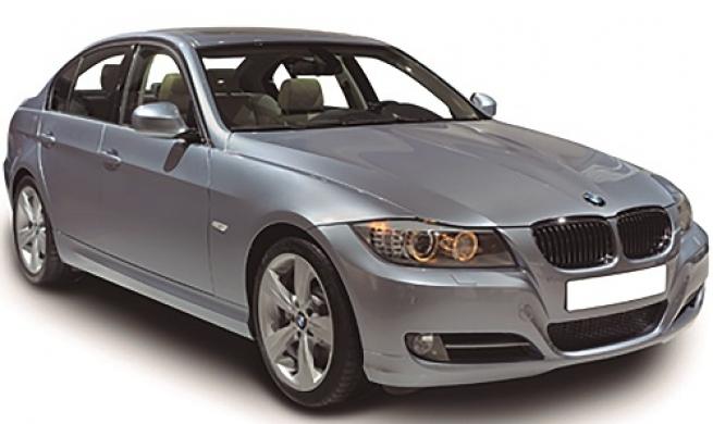 BMW 320i baixando nível do líquido de arrefecimento