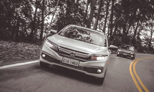 Honda anuncia a chegada da 10°geração do Civic com versão inédita e duas opções de motor