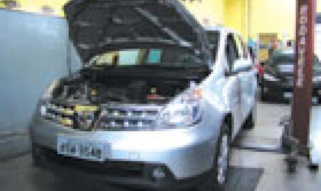 O bom e velho Nissan Livina