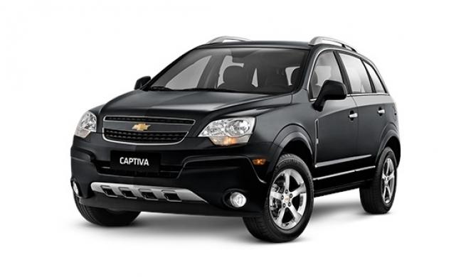 Chevrolet Captiva 2.4l requer equipamentos de ponta na oficina