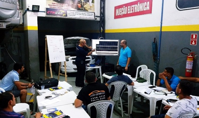 Treinamento: Diagnóstico do sistema de gerenciamento eletrônico do motor utilizado scanner e oscilóscopio