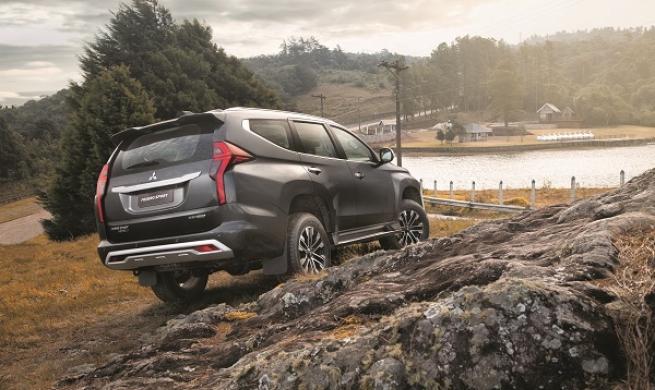 Mitsubishi Motors lança o Pajero Sport 2021, mais tecnológico e com inédito facelift