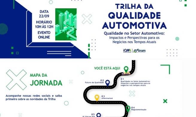 IQA promove evento online sobre o futuro da qualidade automotiva