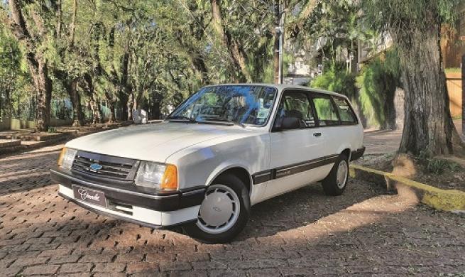 Chevrolet Marajó SE 1987, prática e econômica perua familiar que está tornando-se colecionável