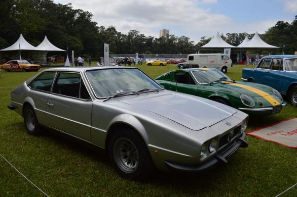 Fúria GT fazia menção aos clássicos gran turismo europeu, o estilo era inspirado no Lamborghini Jarama