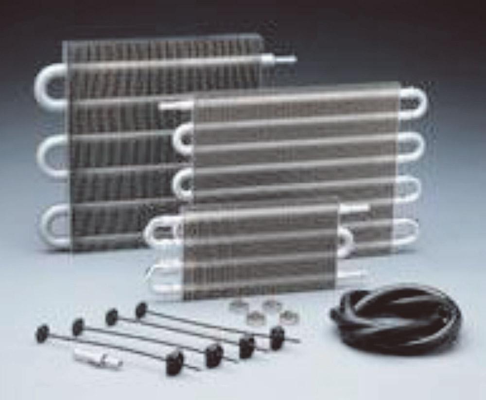 Figura 8 – Trocador de calor auxiliar tipo tubo e aletas