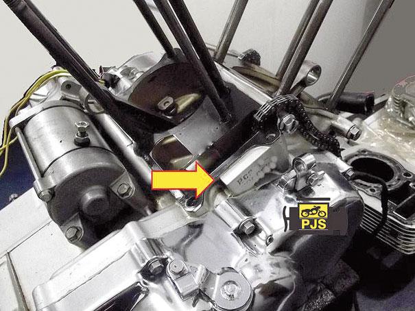 Carcaça direita, numeração do motor - Honda Shadow 600
