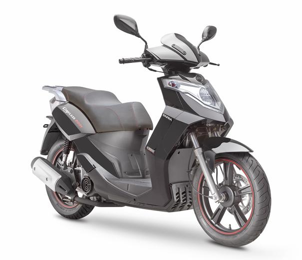 Diferentemente de outras scooters mais novas no mercado, a Dafra CityClass não tem lanternas e faróis de LED