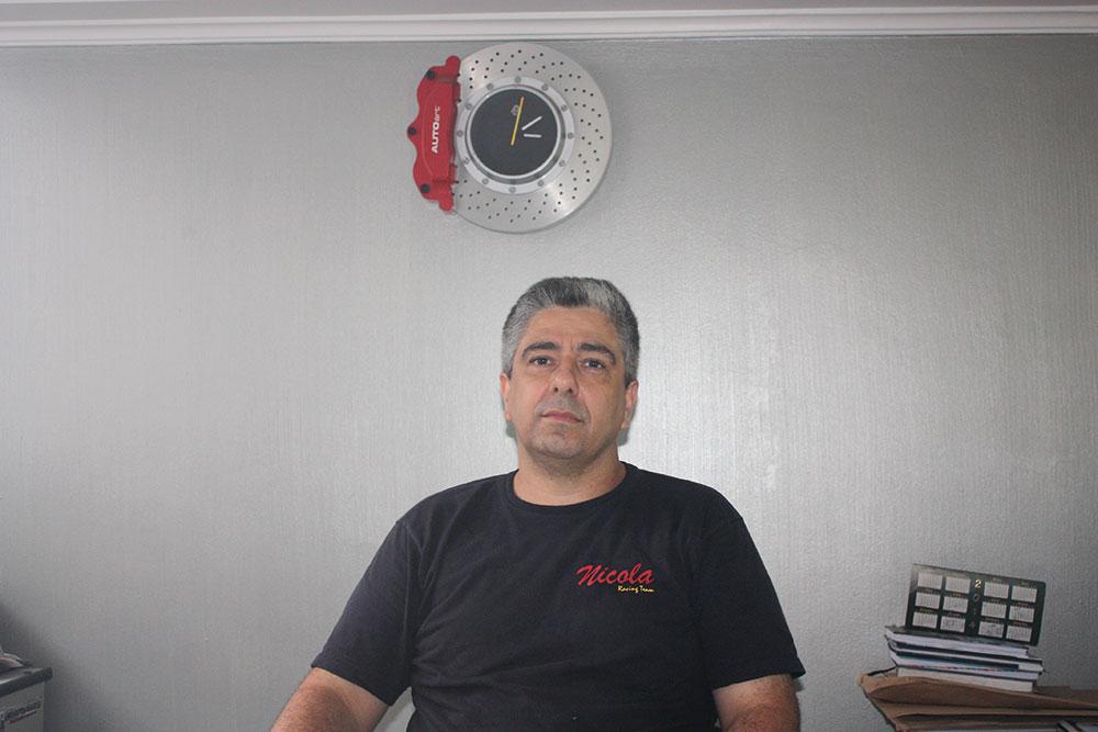 Rafel Cecere, responsável pelo desenvolvimento de alguns dos carros mais rápidos do Brasil