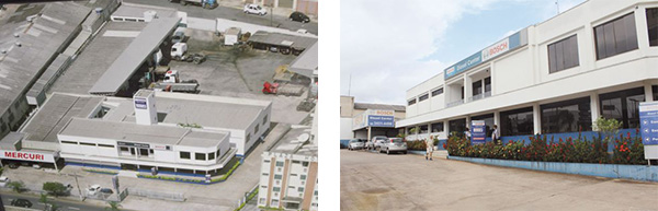 A oficina conta com espaço de mais de 4.000m²