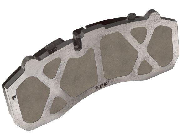 """A plaqueta vazada """"Matrixx"""" , lançada na Automechanika Frankfurt, em setembro de 2014 na Alemanha, é um inovador conceito para pastilhas de freio a disco, destinada a veículos comerciais"""