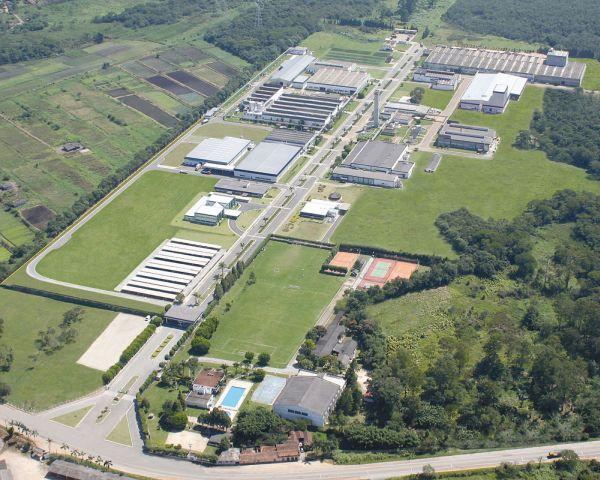 Planta da fábrica da NGK, em Mogi das Cruzes, região metropolitana de São Paulo