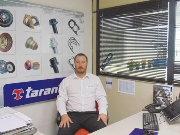 Jurandir Defani Júnior, porta-voz e gerente geral da Taranto no Brasil