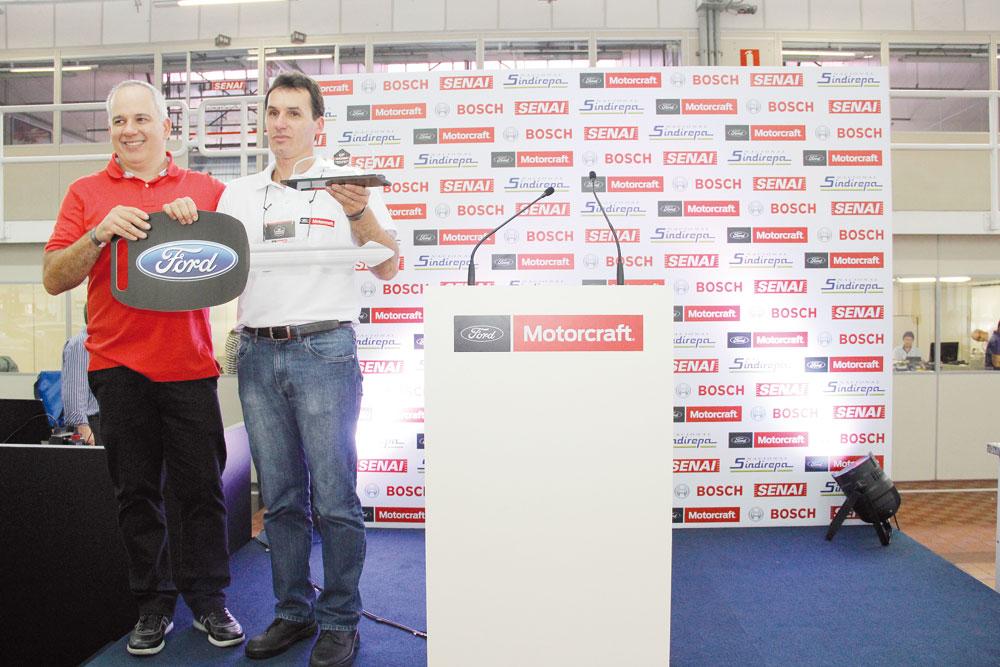 Os vencedores do GP Motorcraft: Ricardo Cramer dos Santos (2014) e Claudio de Oliveira Carvalho (2015)