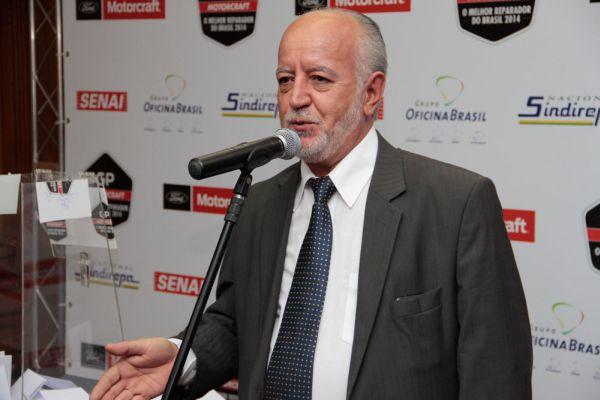 No dia do sorteio que aconteceu na sede do SINDIREPA SP, o Vice presidente da entidade, José Nogueira dos Santos, em seu discurso ressaltou a importância do GP Motorcraft para a história da reparação automotiva no país