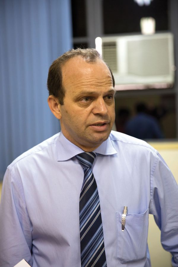 O Professor Mauro Santos, Coordenador de Atividades Técnicas do SENAI-SP, participou ativamente da elaboração da prova prática