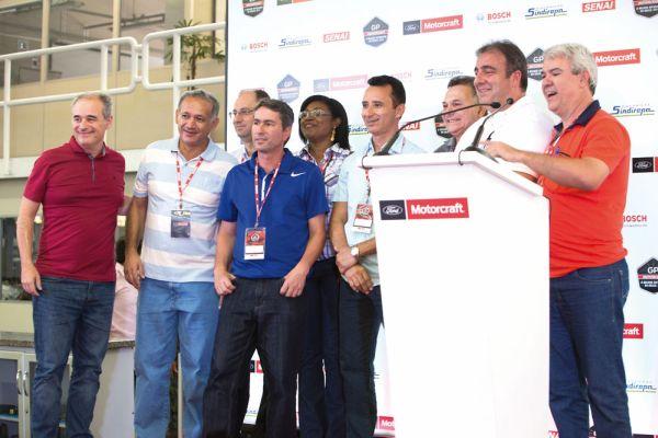 Representantes dos Sindirepas de todo o Brasil foram convidados à participar dos três dias do evento o que reforça o caráter de integração da cadeia produtiva do aftermarket nacional, promovido pelo GP Motorcraft