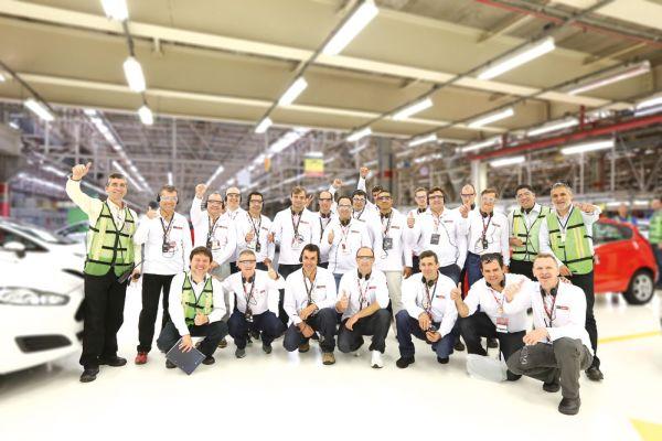 Um dos momentos mais esperados pelos finalistas foi a visita na fábrica da Ford na cidade de São Bernardo do Campo