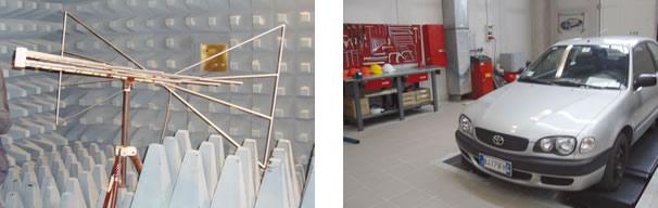FOTO 14:Laboratório de acústica / Módulo de treinamento Toyota