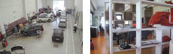 Área de mecânica / Sala de reuniões