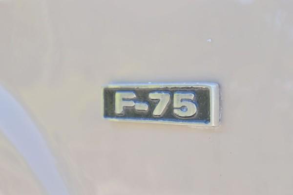 A partir de 1972, a picape Rural torna-se F-75, seguindo a nomenclatura adotada pela Ford