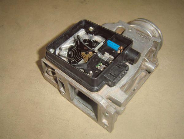 Sensor de fluxo de ar ou caudalímetro com sensor potenciométrico