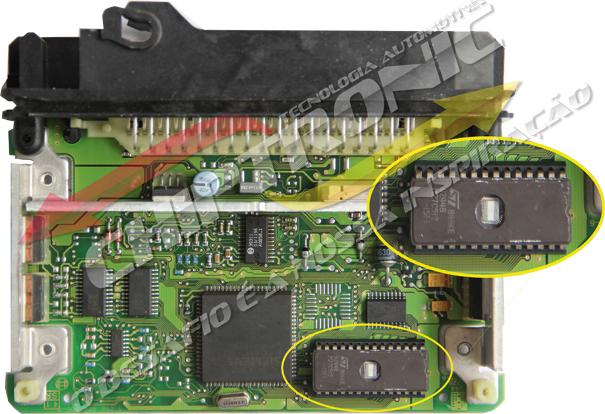 Fig 1 – ECU REPAIR – EPROM M27C512