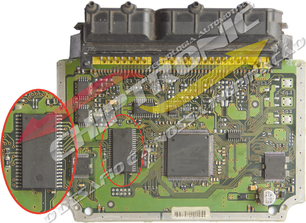 Fig. 2 – ECU REPAIR – EPROM 29F200BB