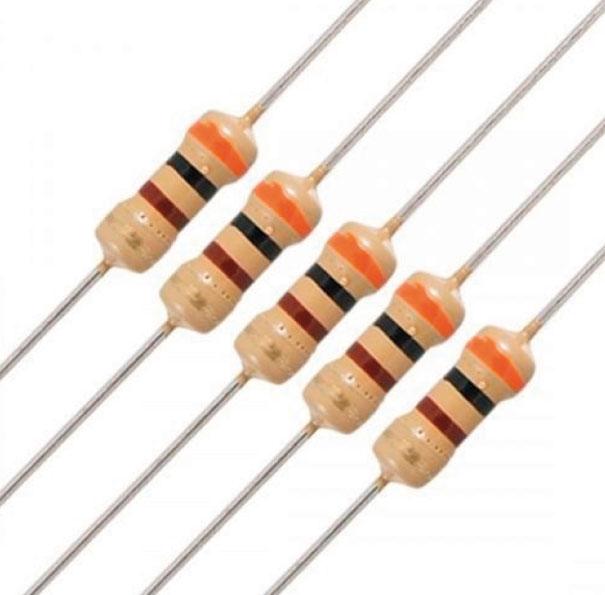 Fig. 2 - Resistores