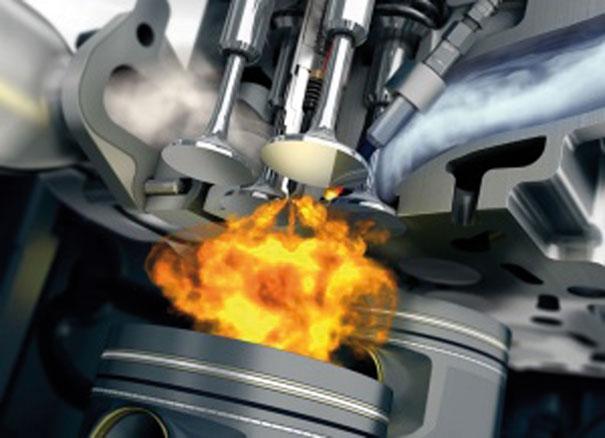 Mistura Ar-Combustível de forma concentrada