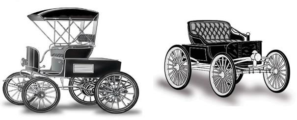 Veículos elétricos do início do século XX