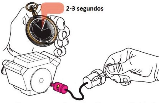Partida em um motor de combustão interna não híbrido