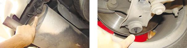 Mesmo que haja adaptação por escapamentos esportivos, o cabo massa deverá ser mantido/ Coisa de Americano: o pivô da suspensão dianteira permite que a manutenção preventiva seja aplicada, pois é equipado com um niple para pistola engraxadeira