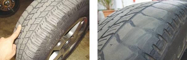 Check List revelou poucas ocorrências apesar dos mais de 40 mil km rodados; o principal foroam os dois pneus dianteiros Pirelli Cinturato P3000 205/65 R15, que estavam gastos acentuadamente nas laterais internas, devido à cambagem a alinhamento fora do padrão