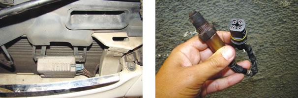 Módulo do sistema de arrefecimento costuma apresentar problemas/ Sonda original foi substituída pela do VW Polo, porém o conector deverá ser mantido