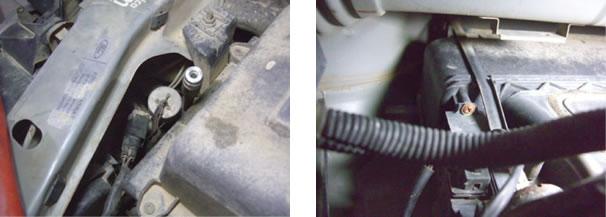 Engate da linha de alta pressão/ Cilindro do reciclo