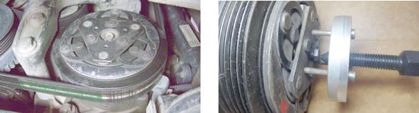 Compressor de palhetas Zexel Celta até 2002/ Compressor ZEXEL extrator do platô