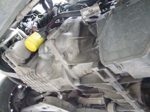 Vista inferior do motor, com perfeita estanqueidade