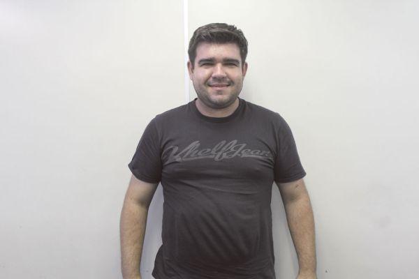 Fábio Trevisan, da auto mecânica Trevisan