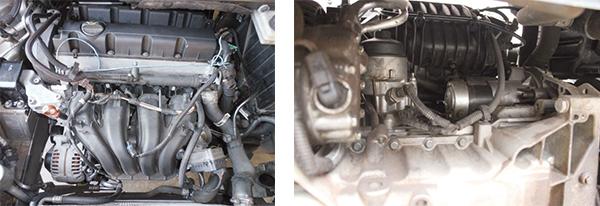Nenhuma dificuldade para troca de filtros, velas, correias e manutenções básicas / Filtro de óleo e motor de partida com fácil acesso por baixo