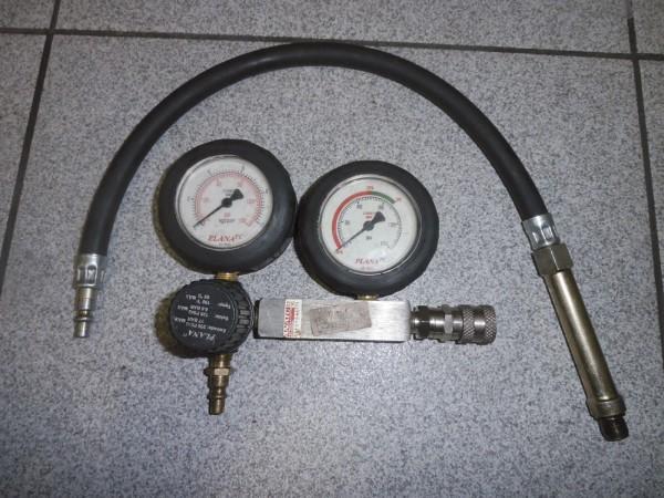 Foto 05: Medidor de vazamento de cilindros. (Ferramenta imprescindível para diagnósticos)