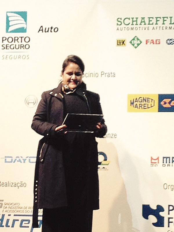Elaine Cristina dos Santos Endo, sócia da Mecânica Kyodai
