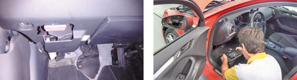 """Acesso livre ao conector OBDII / Scanner atualizado """"conversa"""" com todos os módulos do carro"""